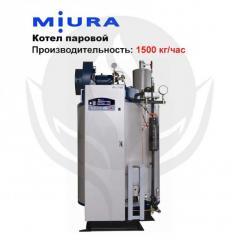 Котел паровой MIURA EZ-1500K