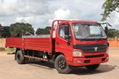 The onboard Photon truck 5t Aumark in Almaty of