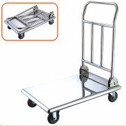 Folding load trolley