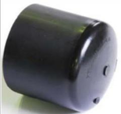 PE caps external round