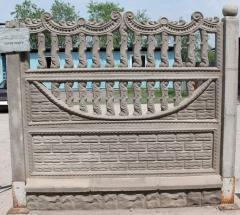 Concrete decorative products (the Fence, the Block