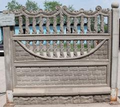 Бетонные декоративные изделия (Забор, Блок-стойка,