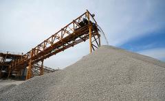 Crushing elimination, sand construction