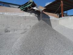 Песок из отсева дробления скальных пород, Песок