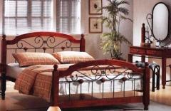 Кованая кровать 180*200 (деревянная)
