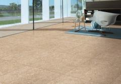Floor glazed porcelain tile with the digital press