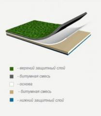 Materials waterproofing for galleries and