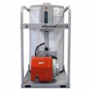 Double-circuit diesel floor coppers of