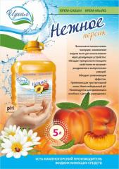 Cream-soap Gentle Peach trade to the Ideal brands