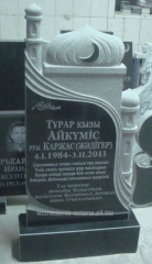 Gravestones granite in Astana