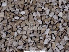 Crushed stone of 0-5 mm, crushed stone fractions