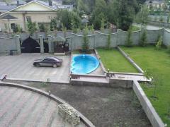 Pools rectangular (sizes 12х4, depth 1,7m)