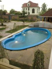 Pool Grazia (sizes 8,5kh3,7m, depth 1,2)