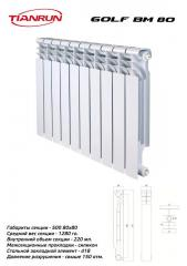 Radiator bimetallic GOLF BM