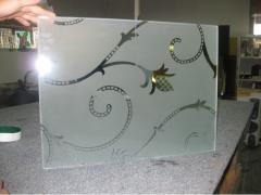 Пескоструйная обработка- Матирование стекла