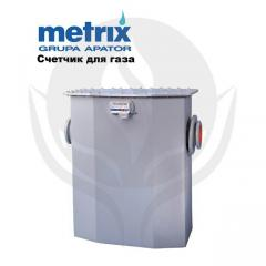 Gas meters, the counter for Metrix G40 gas