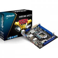 ASRock H61M-VG3 motherboard