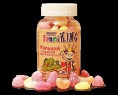 Gummi King - Витамины Кальций плюс витамин D