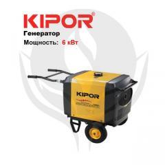 Бензиновый генератор инверторного типа IG6000h