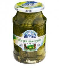 Cucumbers fresh-salted Monastic barrel