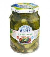 Melenkovsky pickled cucumbers barrel
