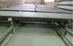 Are given without boards (cart) for production of
