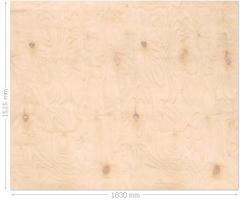 Chapas de madera resistentes al agua pulidas de