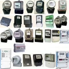 Counters of electrical energy