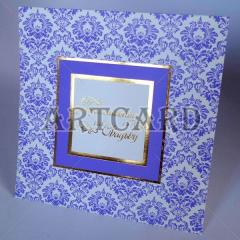 Invitation with double addition from Artcard