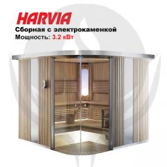 Combined sauna with infrared radiators of Rondium