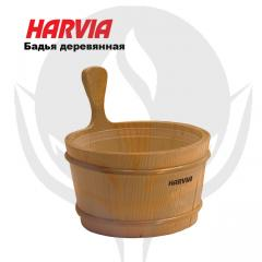 Tub wooden for a bath