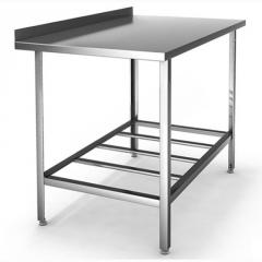 Cases and tables from stainless steel