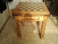 Chessboard for the street in Kazakhstan