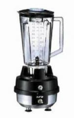 The blender professional with a plastic glass, an