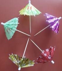 Umbrellas for cocktail, an art. RZN 6045