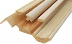 Wooden finishing materials of the ALTEY.KZ company