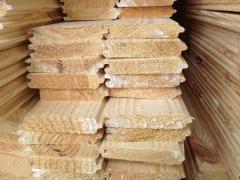 Boards doubling wooden