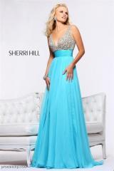 Вечернее платье Sherri Hill 1563 aqua
