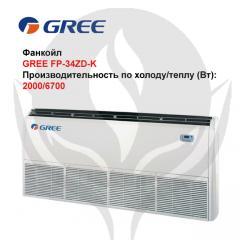 Fankoil of GREE FP-34ZD-K