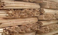 Poles wooden