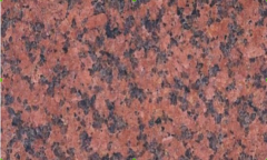 Granite red (polished, thermoprocessed)