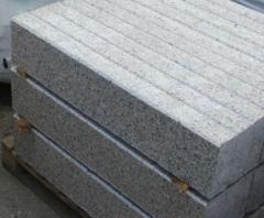 Border from Kurtinsky granite of 100*200 mm