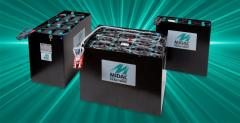 Traction Midac rechargeable batteries