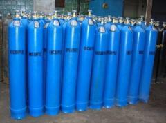Кислородные баллоны на 40 литров, ГОСТ 949-73,