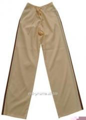 Trousers female (wide) from lopasa, on ties, color