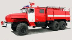 Пожарная автоцистерна АЦ-6,0-40 на шасси Урал