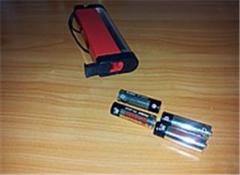 Детектор валюты (банкнот) переносной на батарейках с фонариком