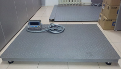 Scales platform (innovation) 1000*750 to 2 tons