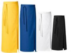 The apron is universal color monophonic, color and