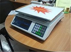 Весы торговые с аккумулятором до 30 кг